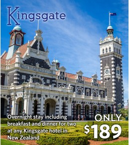 Kingsgate Hotel 1 Night Break