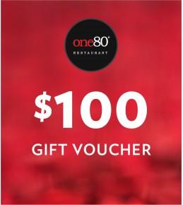 $100 One80° Gift Voucher